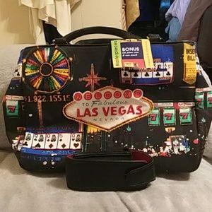 NWT Frankie/Johnnie Las Vegas bag